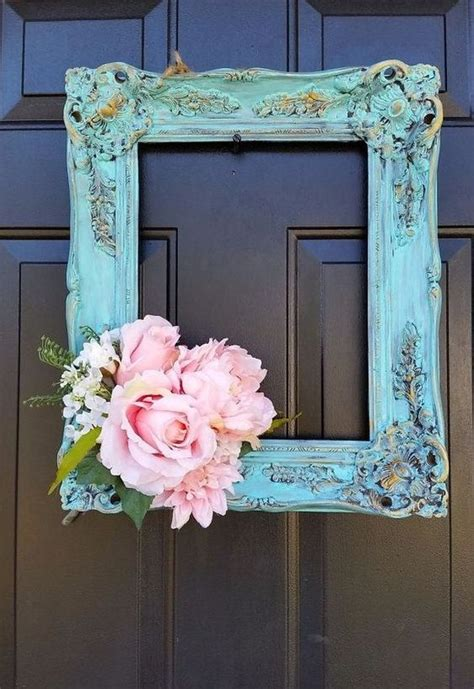 shabby chic picture frame ideas 25 best ideas about shabby chic wreath on