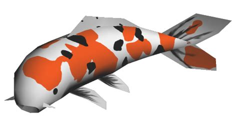 paper craft fish papercraft koi fish by jyxxie on deviantart