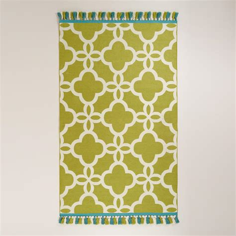 outdoor rugs world market lattice indoor outdoor rugs with tassels world market