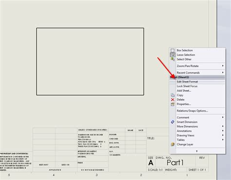 sheet format vs templates in solidworks dasi solutions