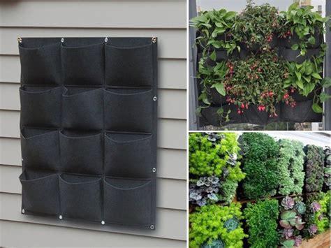 vertical wall planter 25 best ideas about garden wall planter on