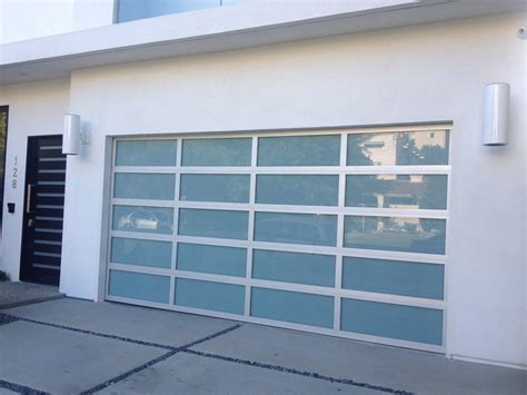 modern glass garage doors insulated glass garage doors modern simple sizes s f white