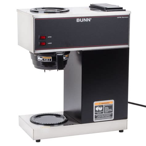 Bunn VPR 0000 12 Cup Pourover Coffee Maker with 2 Warmers