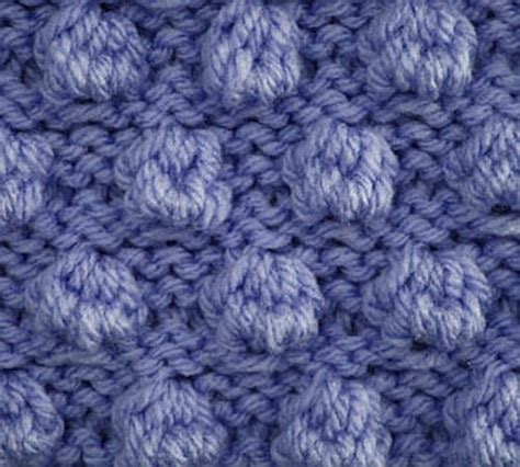 knitting bobbles knitting galore saturday stitch bobble stitch