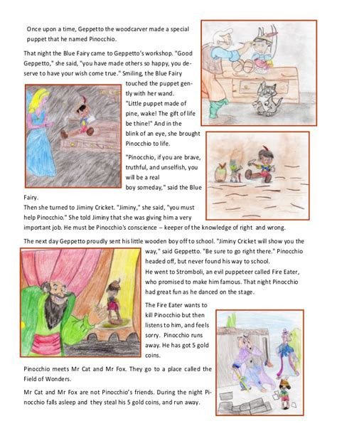 story books with pictures pdf story book pinocchio