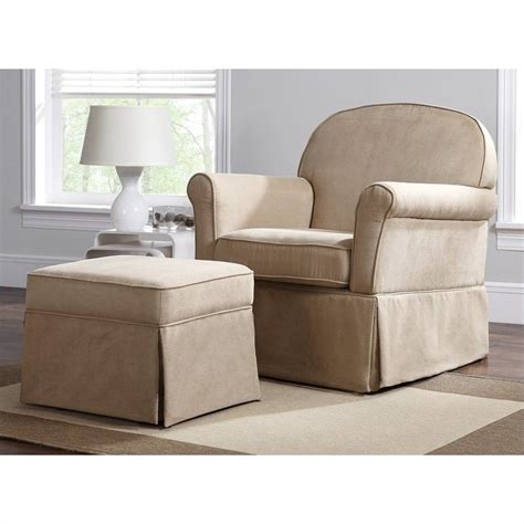 swivel rockers with ottomans swivel glider and ottoman set microfiber wm6009sgo m