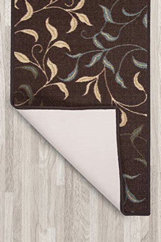 rubber st collection ottomanson ottohome collection contemporary leaves design
