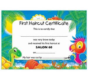 First haircut certificate template free image collections 63 first haircut certificate template free resume format for free certificate templates yadclub image collections yelopaper Gallery