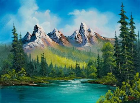 bob ross of painting uk 65 best images about bob ross on bobs lakes
