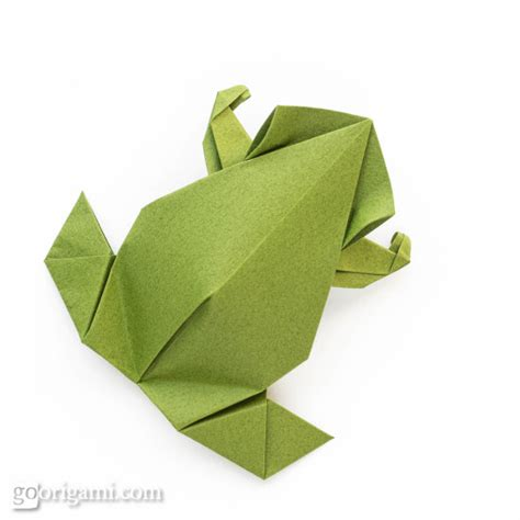 origami frog pre columbian style origami frog by leyla torres go origami