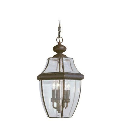 outdoor light fixtures home depot sea gull lighting lancaster 3 light outdoor hanging