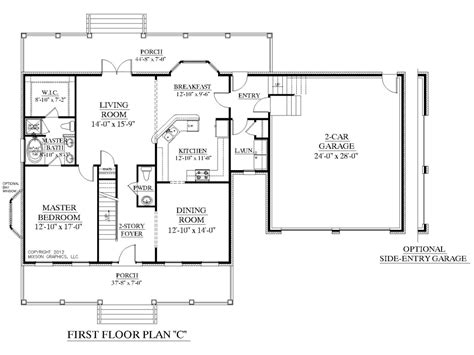 master house plans one story house plans two master and with bedrooms