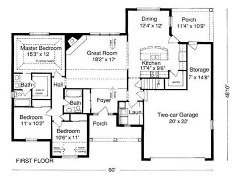 floor plan blueprint exle of house plan blueprint sle house plans