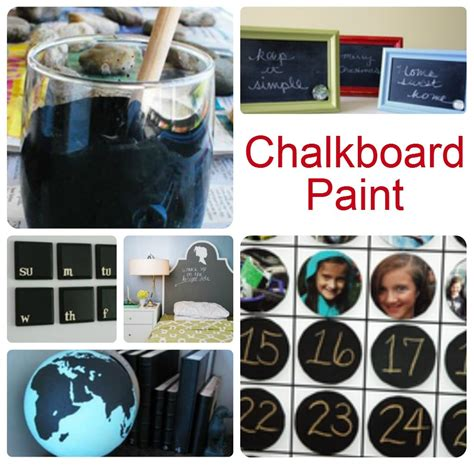 Link With Chalkboard Paint Crafts