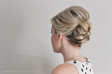 tutorial thin hair hairstyles easier than it looks updo tutorial the small things blog