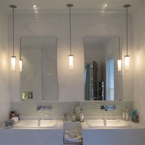 small pendant lights for bathroom 25 best ideas about bathroom pendant lighting on