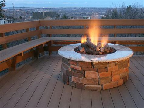propane outdoor firepit outdoor how to build outdoor propane pit backyard
