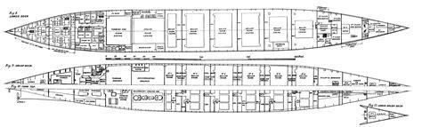 titanic floor plan deck plans for titanic
