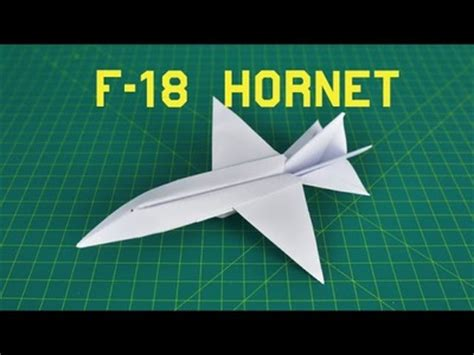 origami f 18 how to make rc airplane part 3 paint diy my