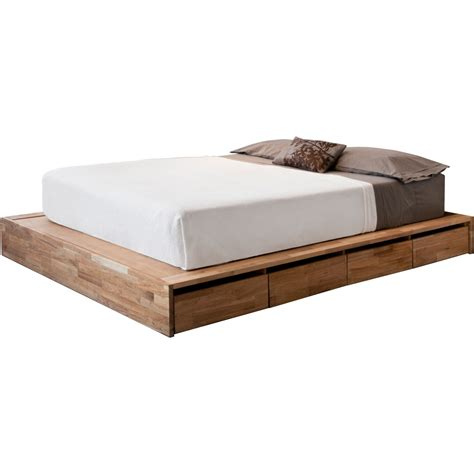 size platform bed frame with drawers bed frame size with drawers furniture also platform