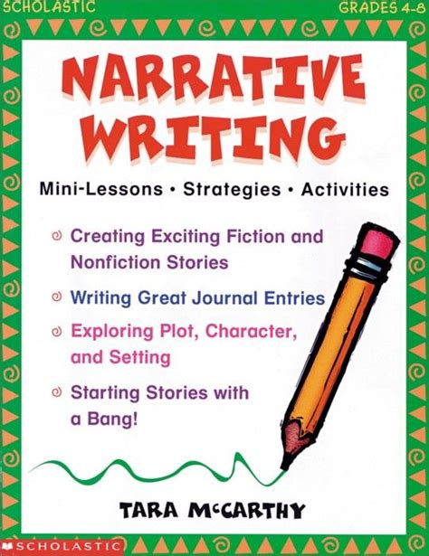 using picture books to teach narrative writing 18 best images about narrative writing on