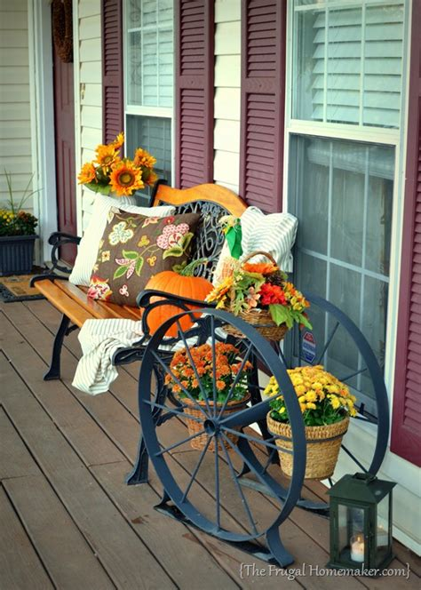 pictures of decorated front porches there s a pumpkin on my porch front porch decorated for fall