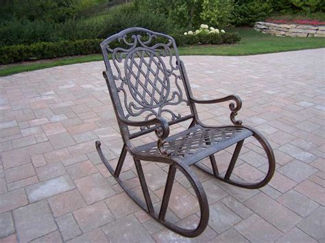 patio rocking chairs metal lawn chair rocker feel the home