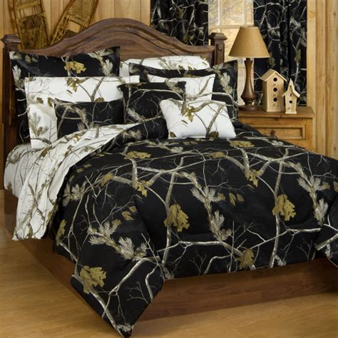 mossy oak king bed set ap black and white camo comforter set free shipping