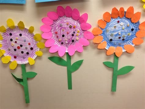 Paper Plate Flower Crafts Find Craft Ideas