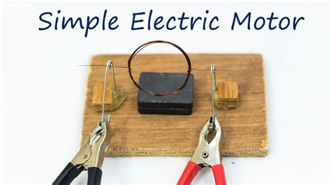 Electric Motor Science by School Science Projects Simple Electric Motor