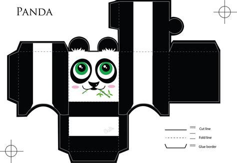 paper craft panda panda paper craft by veavictis on deviantart