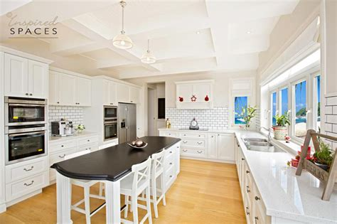 Make A Kitchen Island hampton kitchen makeover by inspired spaces at twin creek