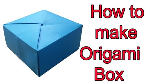 how to fold a origami box how to fold a box origami food ideas