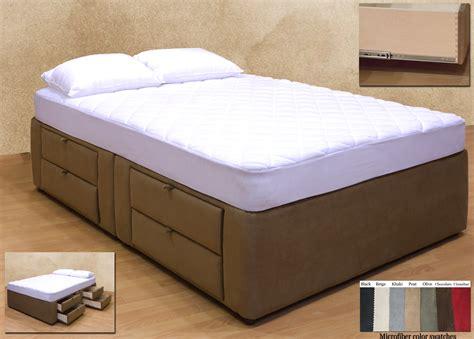 drawer bed 8 drawer platform bed storage mattress box