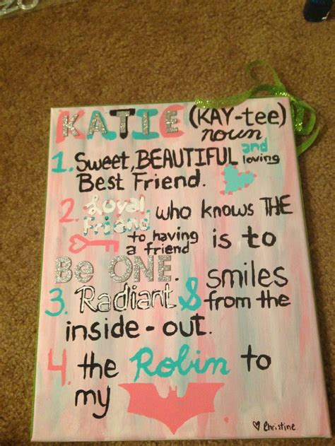 how to make a bff card 25 best ideas about gifts for best friends on