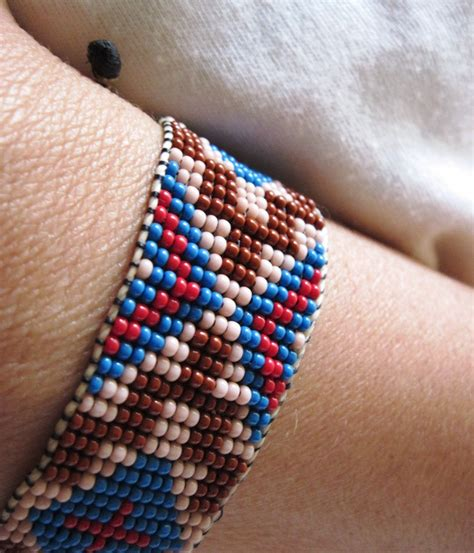 how to make american beaded bracelets american traditional style inspired beaded bracelet