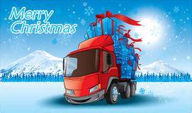 lkw weihnachtsbaum stock fotos bilder und vektor illustrationen hochgeladen