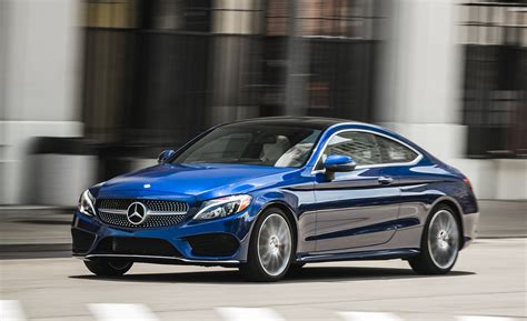 Mercedes Cl 300 by 2017 Mercedes C300 Coupe Test Review Car And Driver