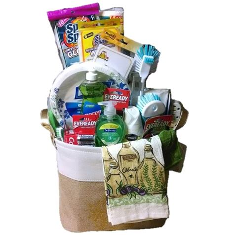 house necessities house warming gift basket necessities for new house or