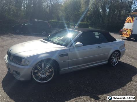 Bmw M3 Convertible For Sale by 2004 Bmw M3 Convertible For Sale In United Kingdom