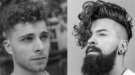 corte pelo rizado hombre peinados y cortes para hombres con cabello rizado youtube