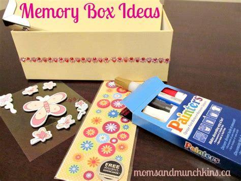 box ideas memory box ideas for munchkins
