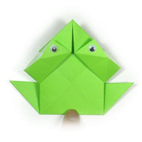 traditional origami frog how to make a traditional origami jumping frog page 11