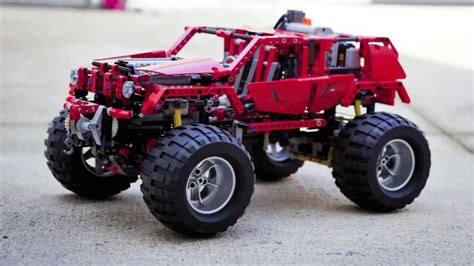 Lego 8297 Off Roader Motorized 4WD Red Version   YouTube