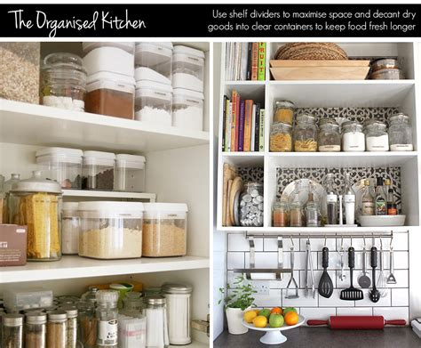 organised kitchen organisation tips for your home ao lifestyle