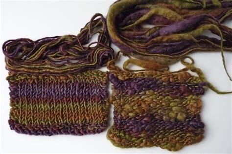 thick and thin yarn knitting patterns why i knit with handspun knittyspin column knittyspin