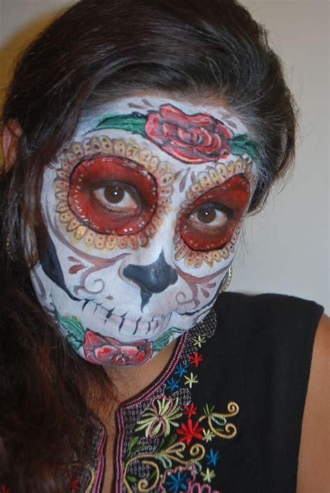 the gallery for gt sugar skulls paint