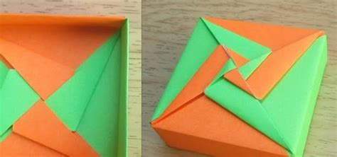 origami square box with lid how to make an origami square box lid tomoko fuse