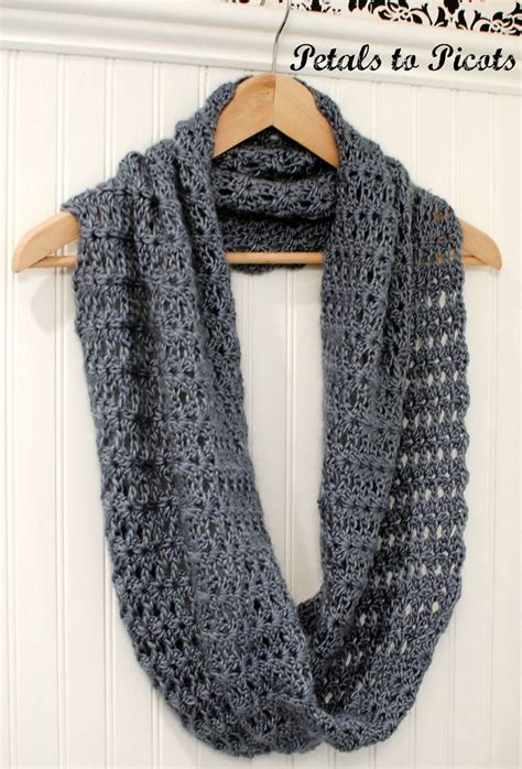free easy infinity scarf knitting pattern infinity scarf crochet pattern for beginners crochet and