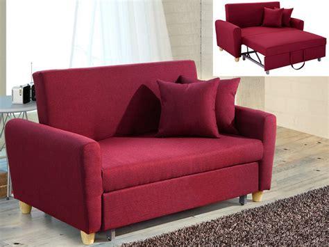 venta de sofa cama de dos plazas sof 225 cama 2 plazas de tela en gris rojo o ciruela xavier